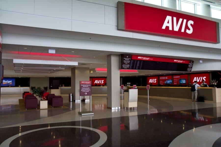 Avis Exterior/Interior Signage and Wayfinding