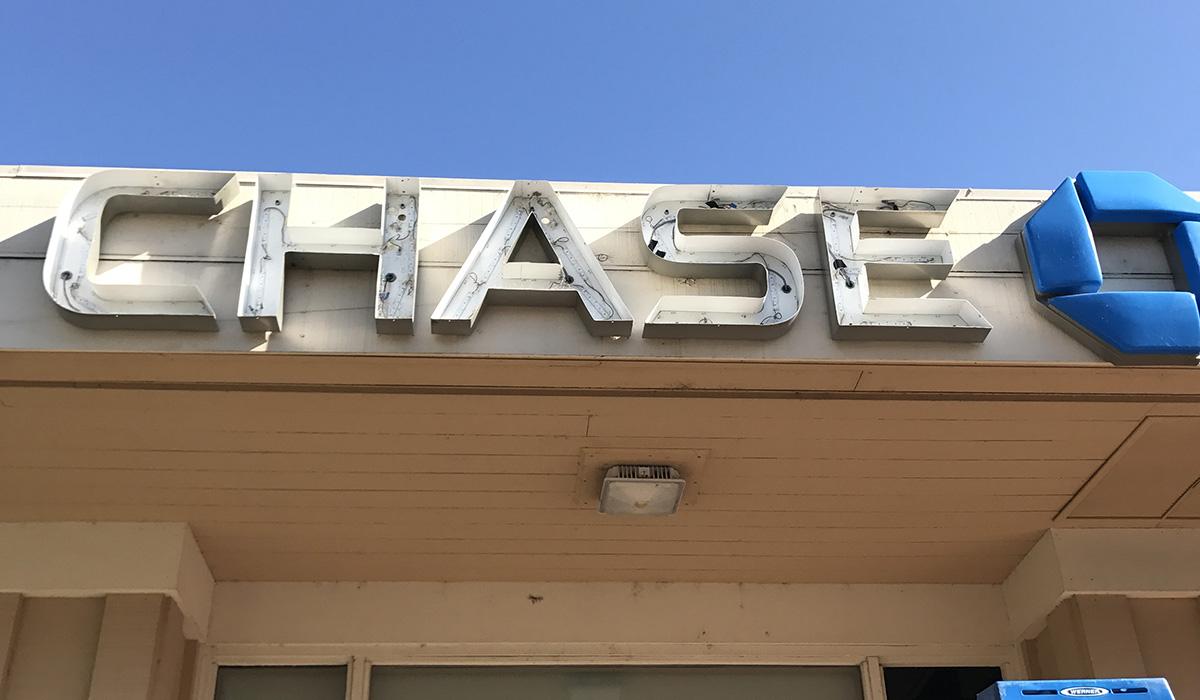 Chase Signage Maintenance