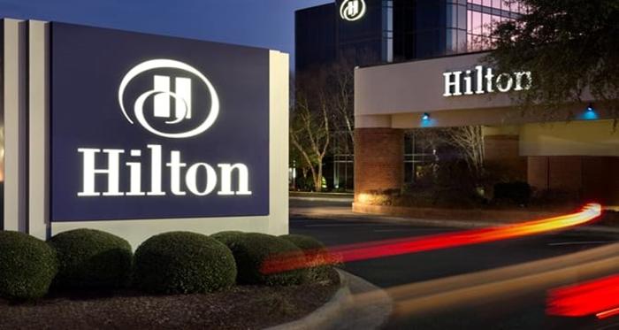 Hilton Signage Conversion
