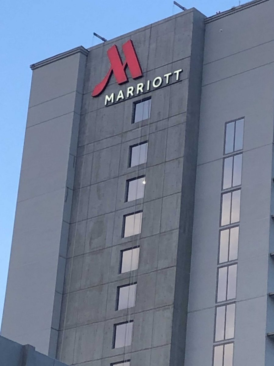 Marriott Exterior & Parking Garage Signage