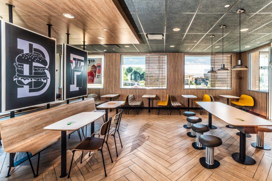 McDonalds Interior Signage