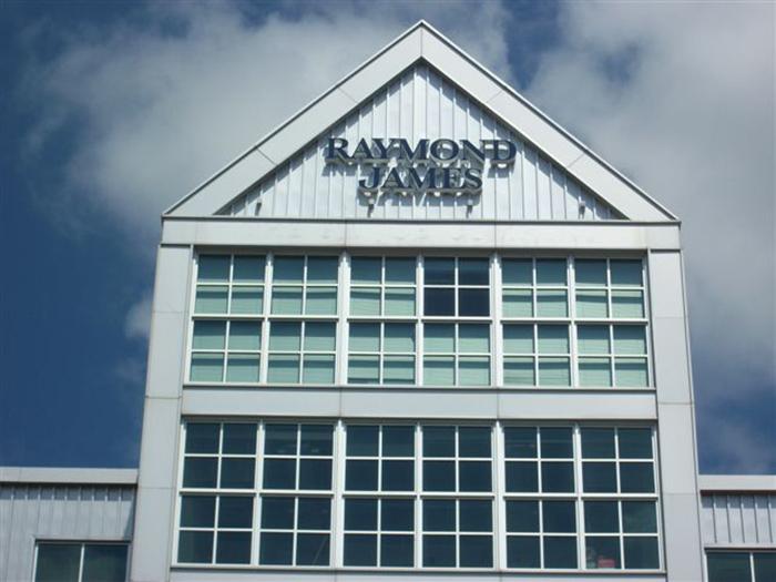 Raymond James Signage