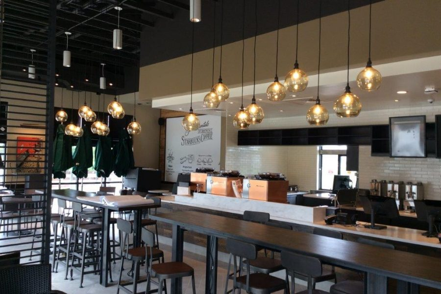 Starbucks Interior Remodel