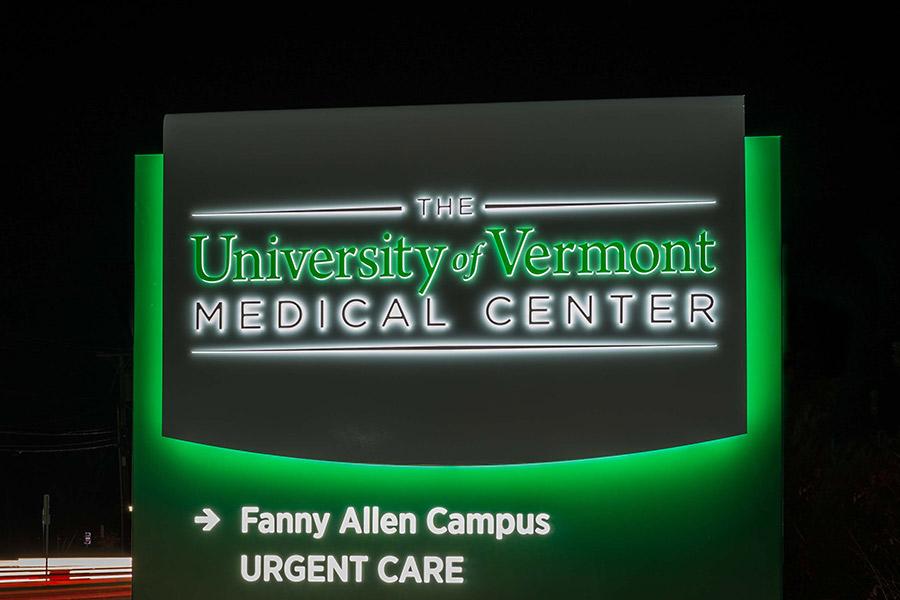 hospital signage