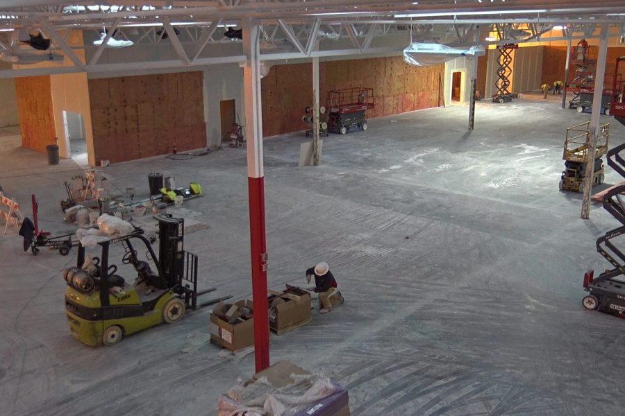 Floor & Decor Remodel In Progress