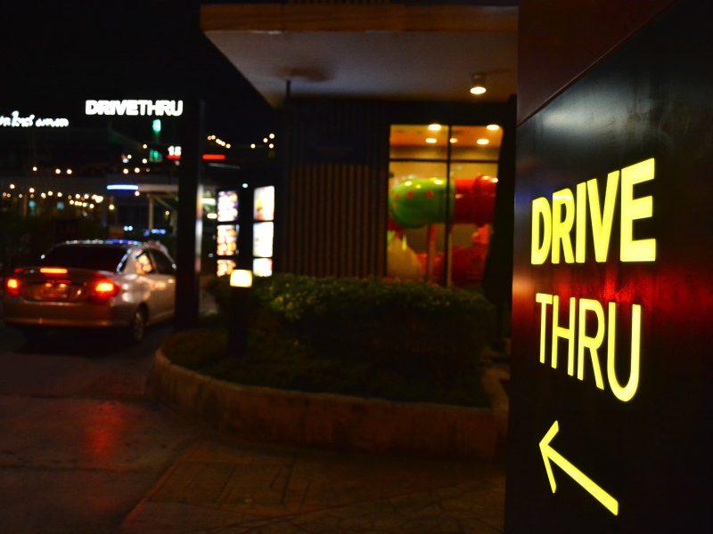 drive-thru optimization